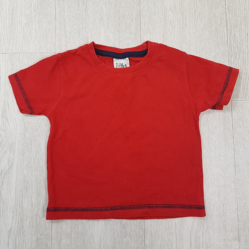 🏴BABY. Red short sleeve top. Age 18-24 months.