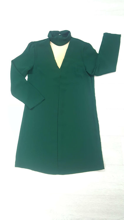 @TOP SHOP Bottle Green Dress Size 10
