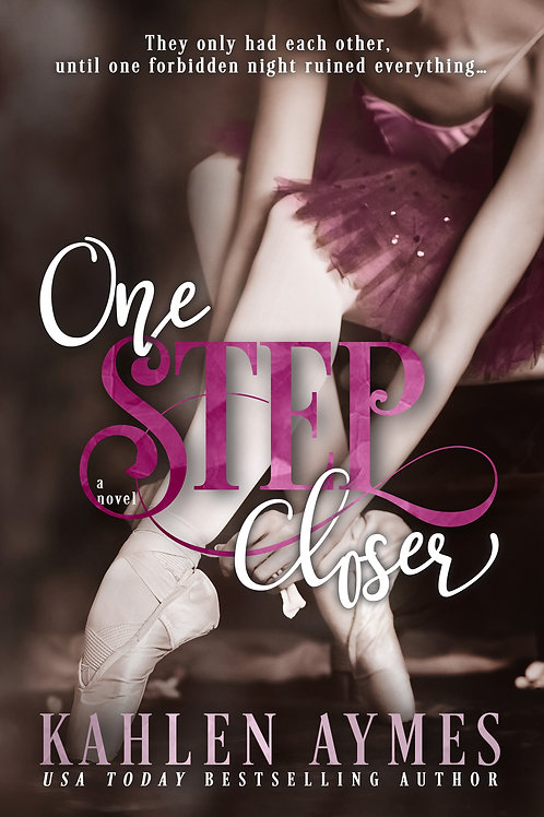 One Step Closer - Paperback - Ballerina Cover