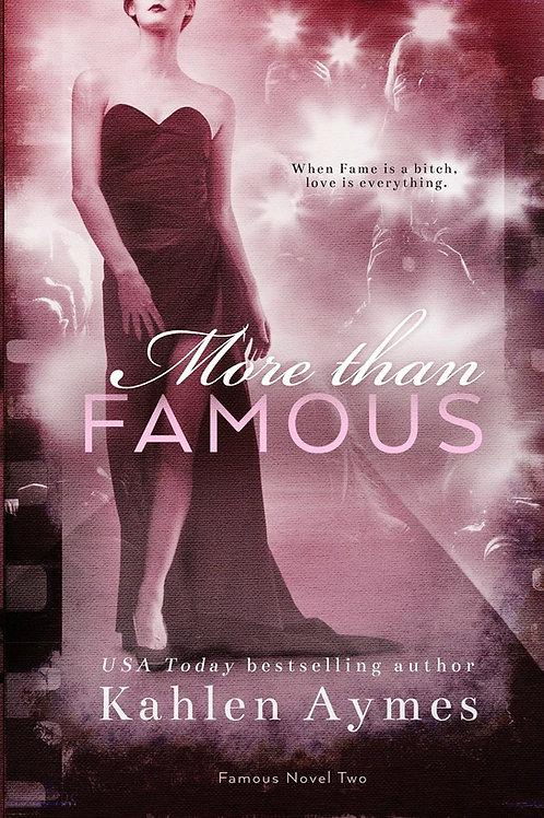 More Than Famous, Famous Novel #2