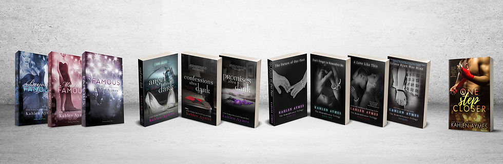 Kahlen Aymes, Book Catalog, Contemporary Romance, Erotic Romance, Erotica, Romantica, Romance Novels, Bestselling author