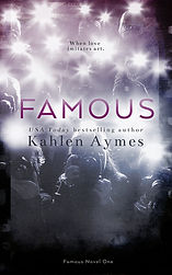 Famous Novel One, Hollywood Love Story, romantica, contemporary Romance, Kahlen Aymes, Erotic romance series
