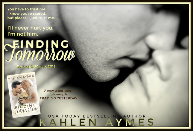 FINDING TOMORROW (Jensen's love story) Coming Soon!