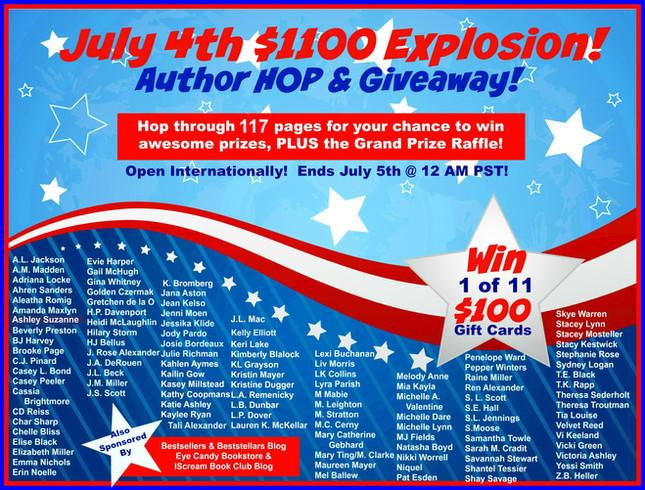 BOOM! MASSIVE July 4th Giveaway!