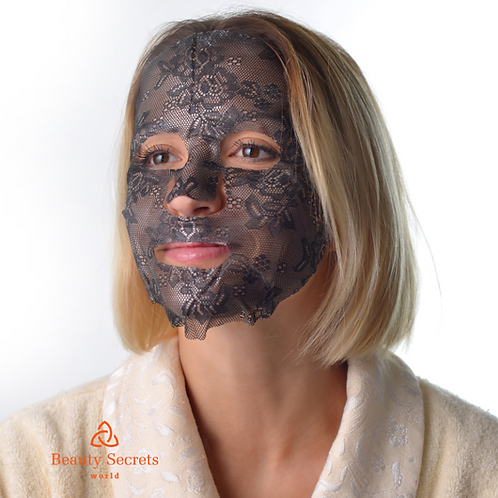 Lace Facial Mask Black