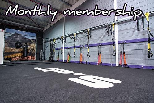 JP's monthly membership (standard)