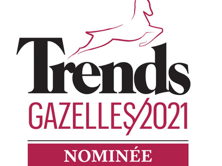 Nominé au Trends Gazelles 2021
