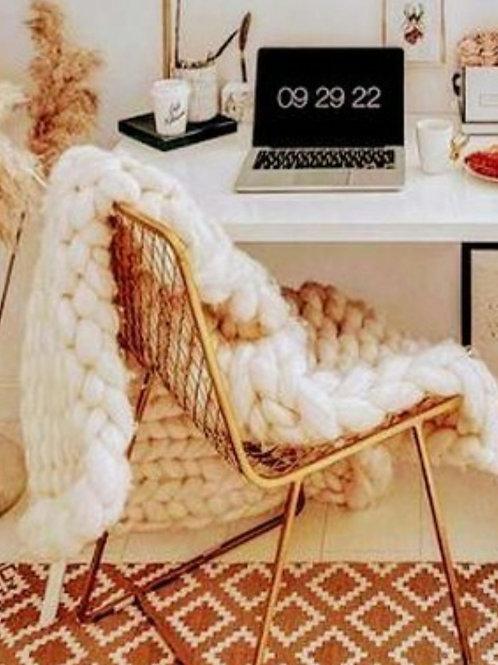Handmade Luxury Merino Blanket