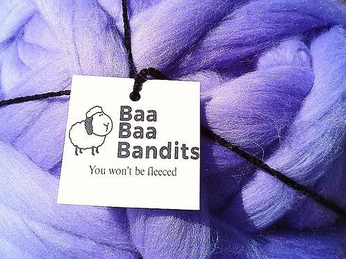 Purple Merino Arm Knitting Yarn