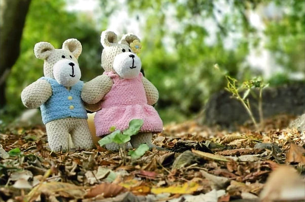 Bear soft toys from The Wonky Woolins, Hanmade in Ireland, Soft toy business