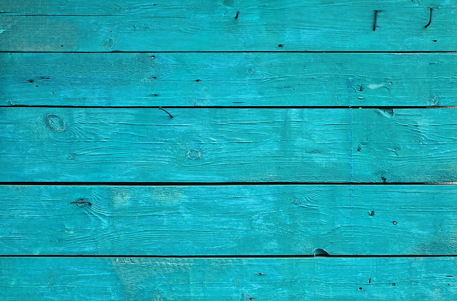Blue vintage rustic aged painted wooden