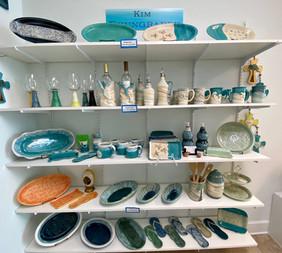 Pottery: Kim Brungraber
