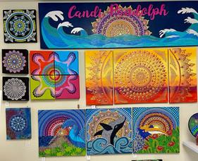 Mandala Dot Art/Instructor: Candi Randolph