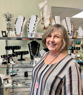 Jewelry: Cynthia Hobgood