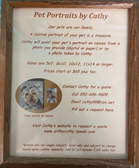 Pet Portraits: Cathy Ingram