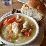 Homeade Chicken and Dumpling Soup