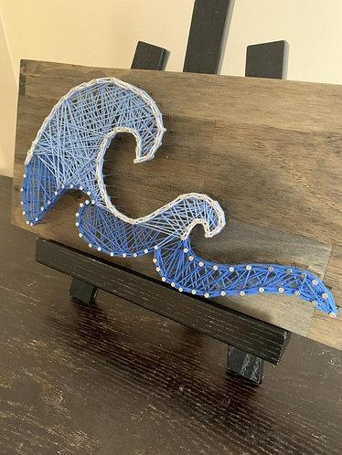 Large Wave String Art Kit