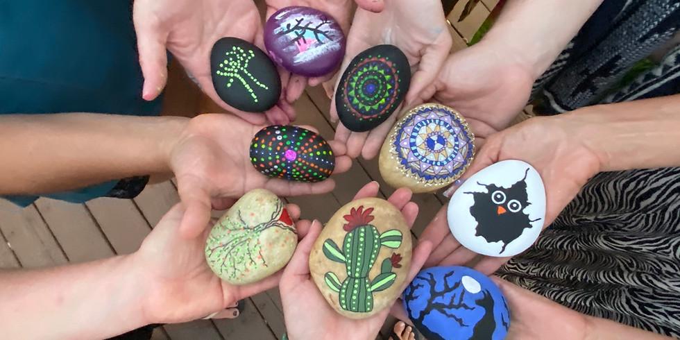 Sip+Craft: Rock Painting