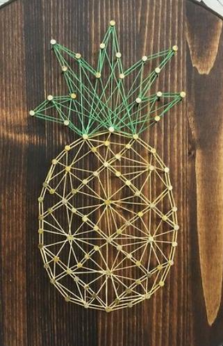 Pineapple String Art Kit