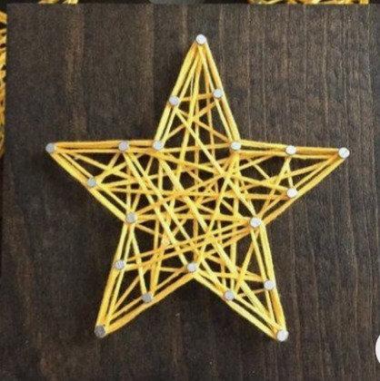 Star String Art - Beginner
