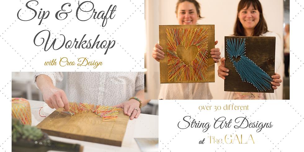 Sip & Craft Workshop - String Art