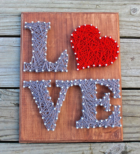 LOVE String Art Kit