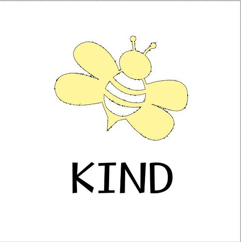 """Bee Tote Bag Stencil Kit - 11"""" x 13"""""""