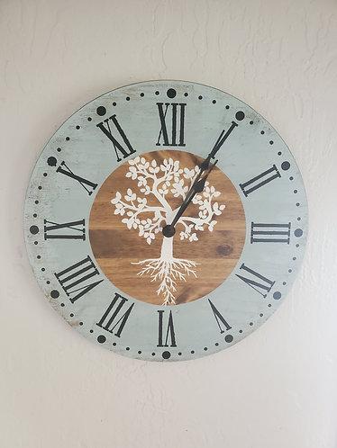 "24"" Tree of Life - DIY Clock Kit"