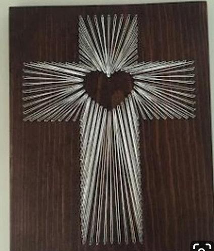 Love Cross String Art Kit