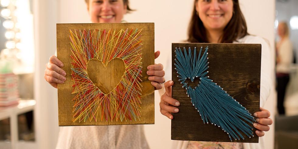 Sip + Craft: String Art