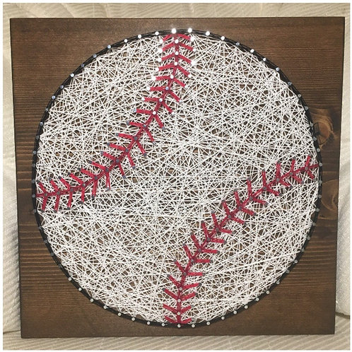 Baseball String Art Kit