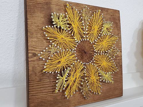 Flower String Art Kit