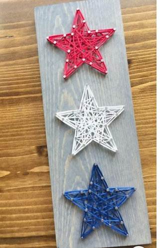 Set of Star String Art Kit