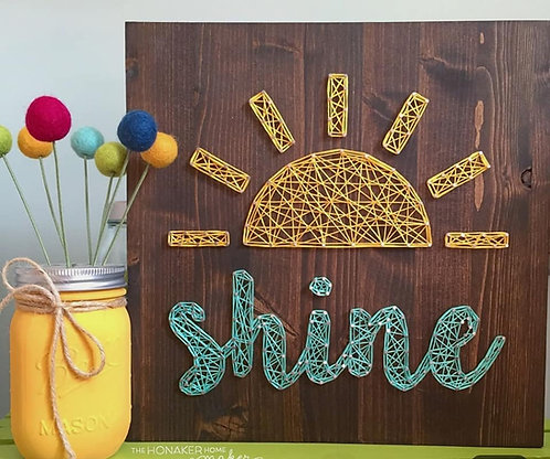 Shine String Art Kit