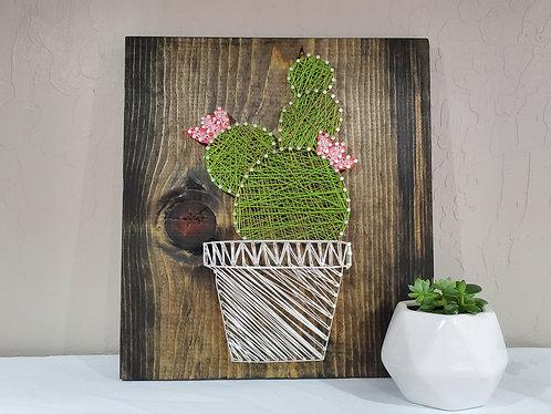 Flower Cactus String Art Kit