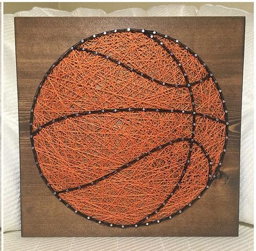 Basketball String Art Kit