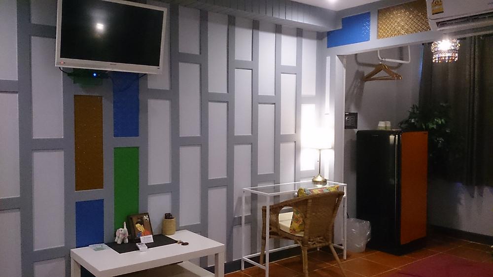 Fasilitas kamar yang cukup baik untuk hotel murah (c) Arakita Rimbayana Baan Baimai Ayutthaya Thailand