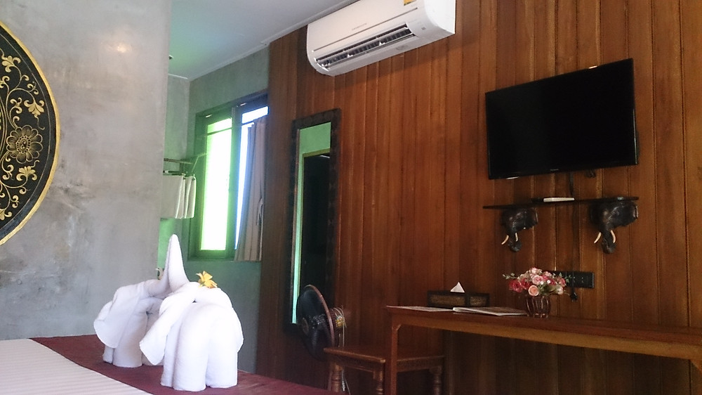 Fasilitas kamar Sawasdee Resort Sukhothai Thailand (c) Arakita Rimbayana