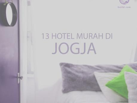 Terbaik 13 Hotel Murah di Jogja