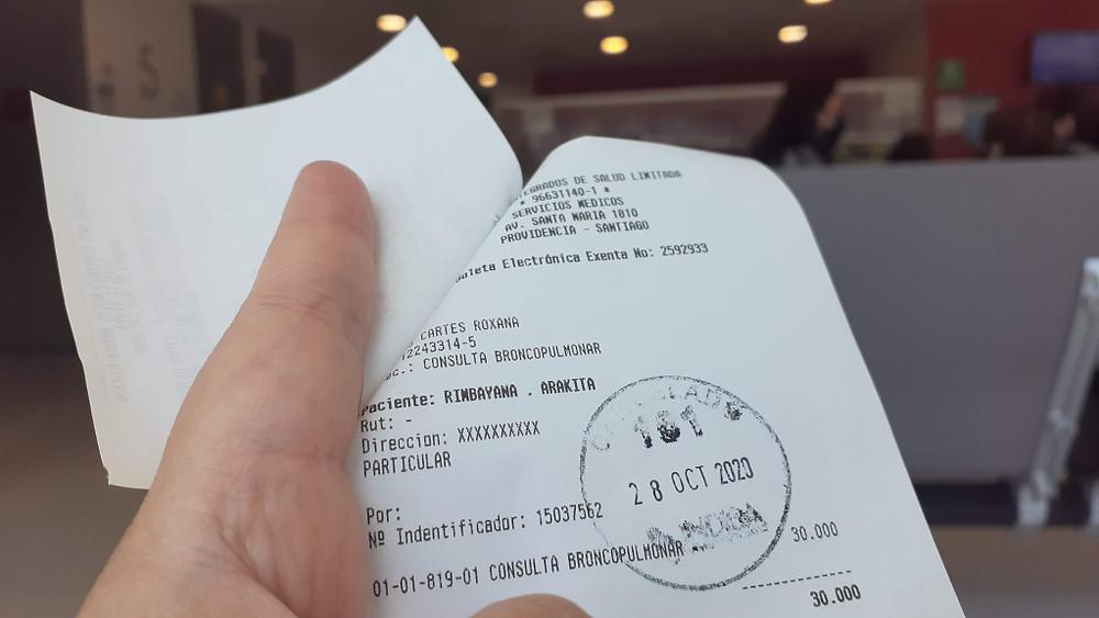 PCR Test di Chili (c) Arakita Rimbayana BuLiBi Bukan Liburan Biasa