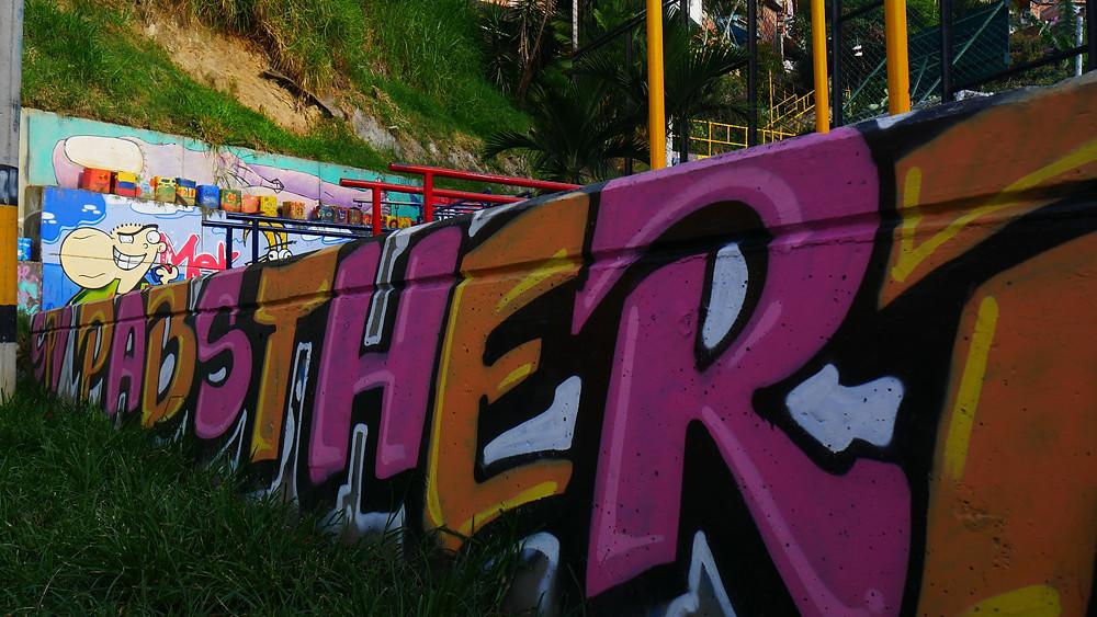Grafiti di Comuna 13 (c) Arakita Rimbayana BuLiBi Bukan Liburan Biasa