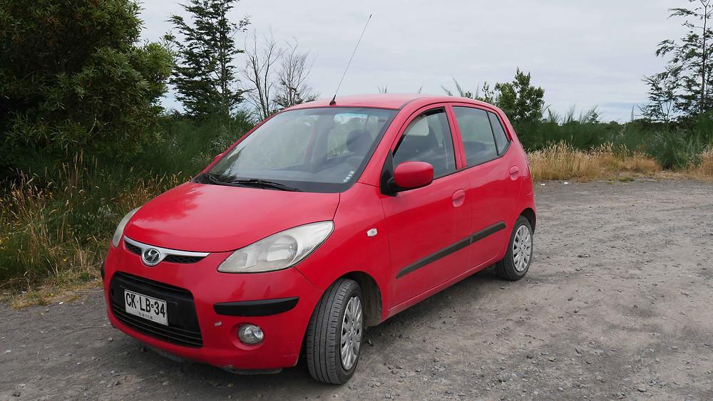 Sewa mobil dan nyetir sendiri di Chile (c) Arakita Rimbayana