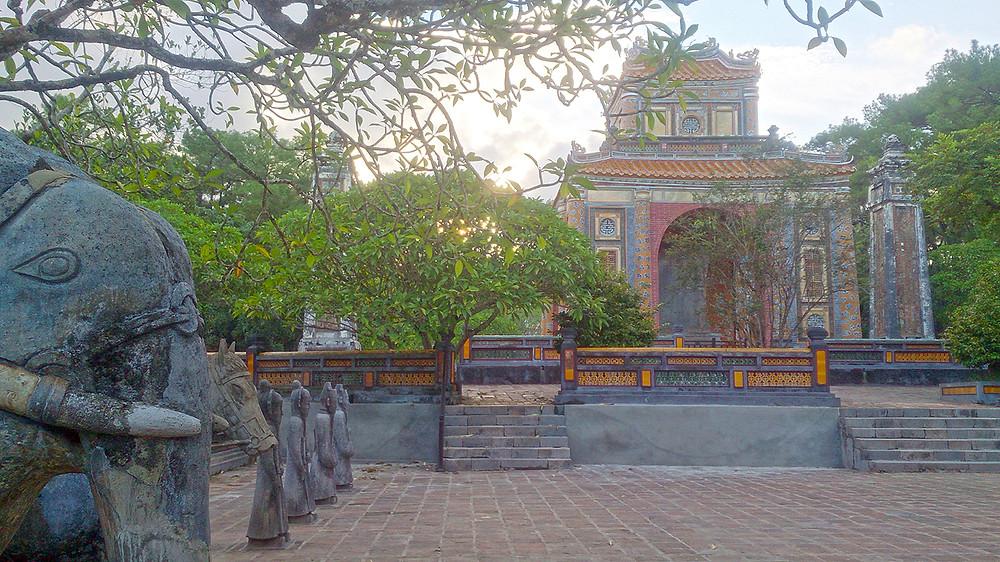 Halaman Utama Makam Kaisar Tu Duc Hue Vietnam © Arakita Rimbayana BuLiBi Bukan Liburan Biasa