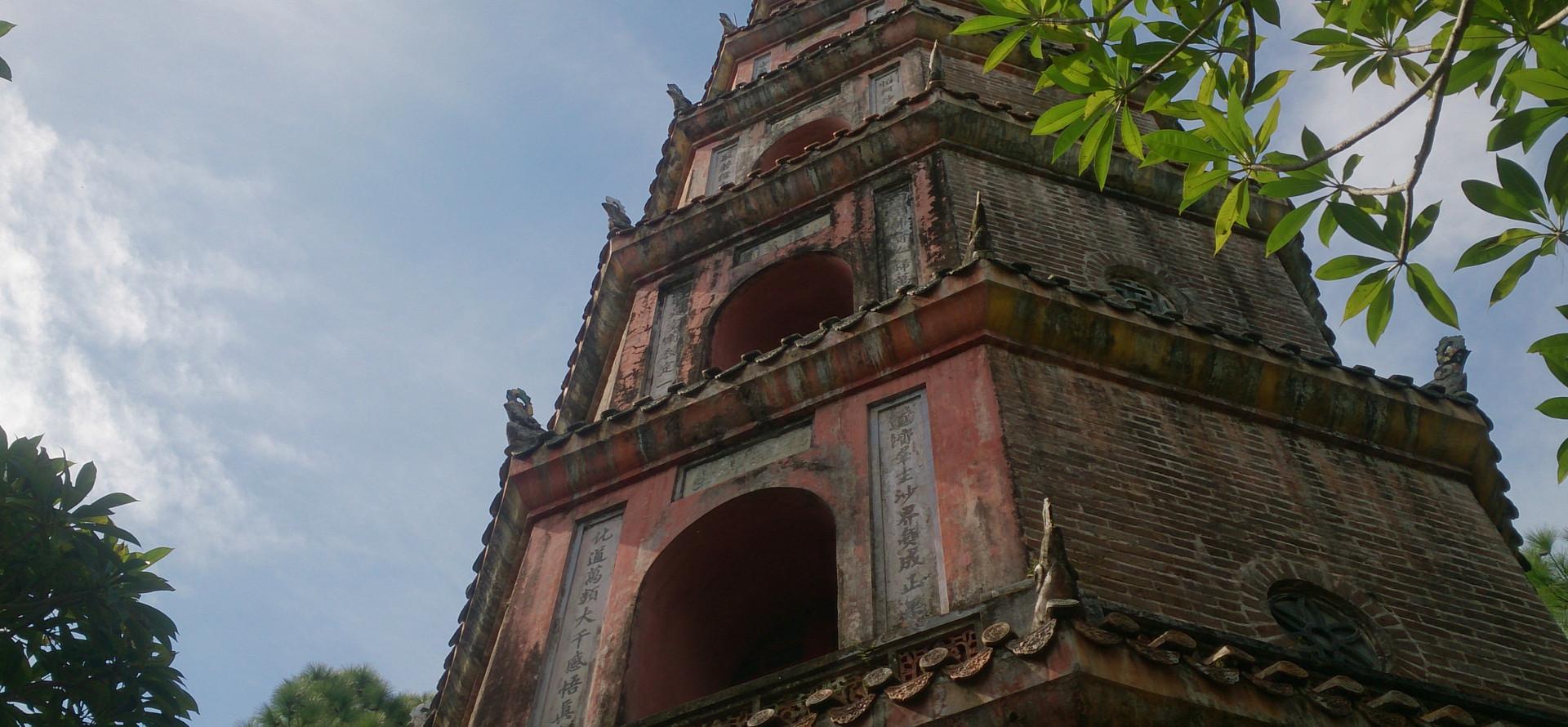 Thien Mu, Pagoda Of The Celestial Lady In Hue, Vietnam