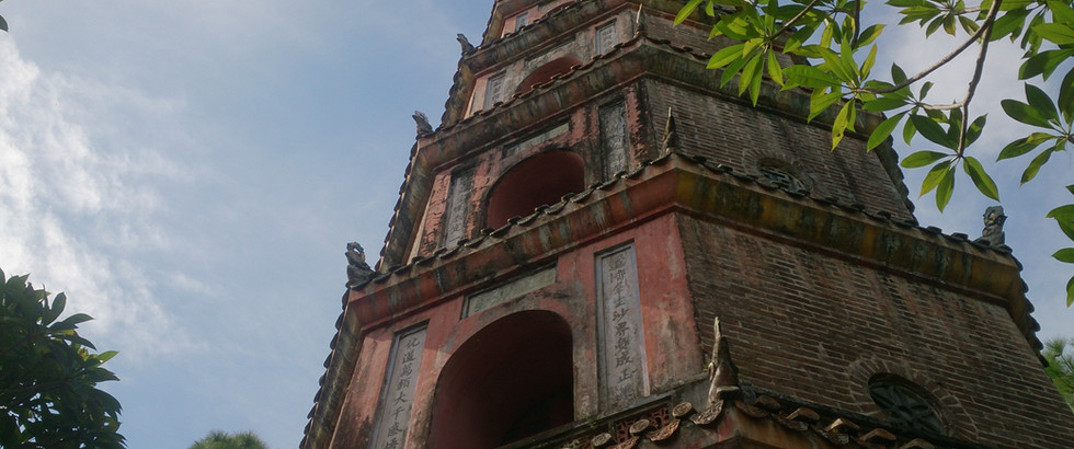 Thien Mu, Pagoda Of The Celestial Lady In Hue, Vietnam