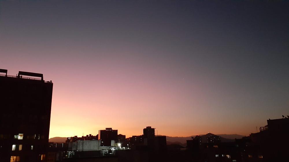 Suasana Karantina Virus Corona di Santiago, Chile (c) Arakita Rimbayana