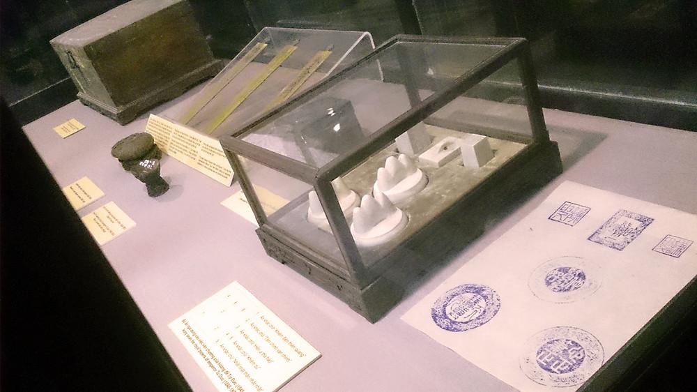 Artefak di Museum Makam Kaisar Tu Duc Hue Vietnam © Arakita Rimbayana BuLiBi Bukan Liburan Biasa