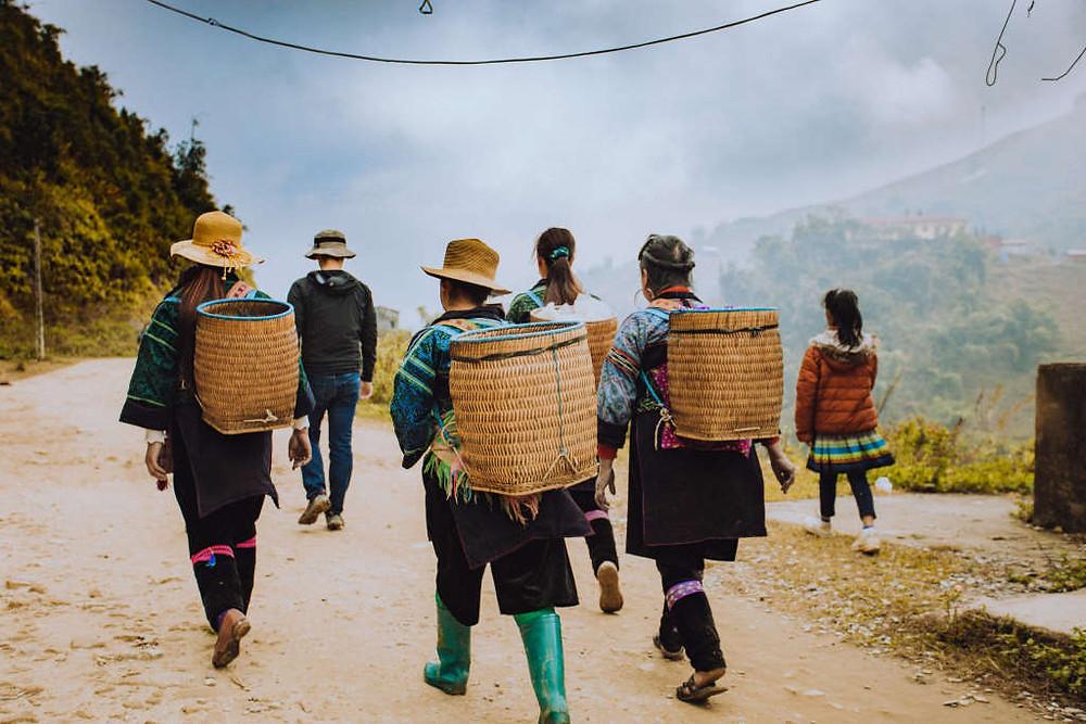 Sapa Vietnam (Photo by Jireh Foo on Unsplash) BuLiBi Bukan Liburan Biasa