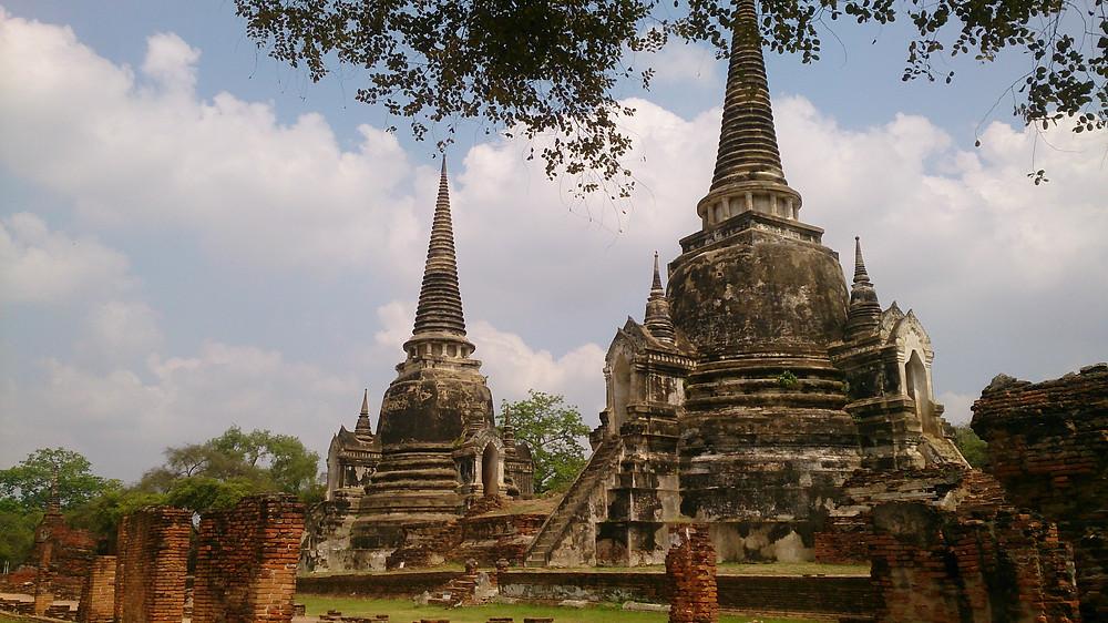 Ayutthaya Historical Park (c) Arakita Rimbayana bulibi bukan liburan biasa Thailand