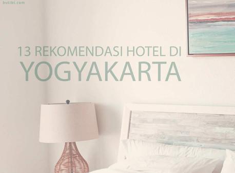 13 Rekomendasi Hotel di Yogyakarta